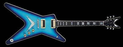 USA Dean Time capsule Blue Burst ML