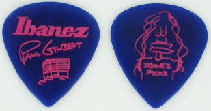 Ibanez Paul Gilbert Blue Signature Picks