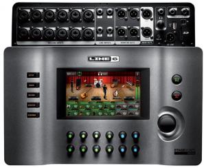 Line 6 StageScape M20d Mixer Black