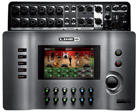 Line 6 StageScape M20d Mixer Black